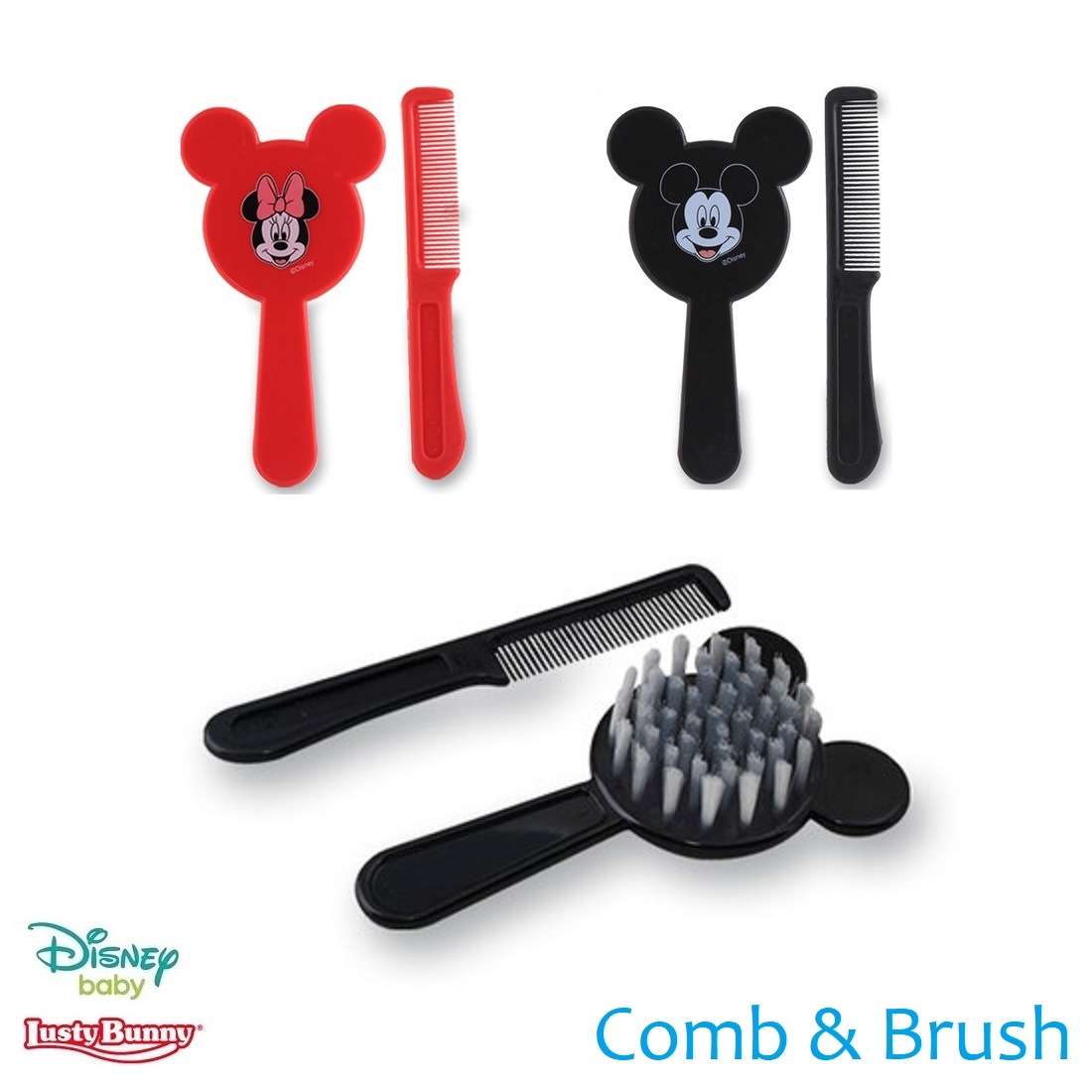 Lusty Bunny Disney Brush and Comb Set