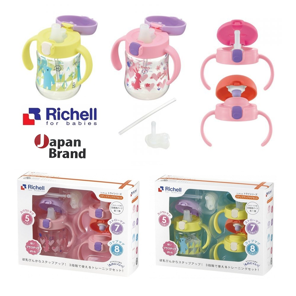 Richell TLI Step Up Mug Set (1)