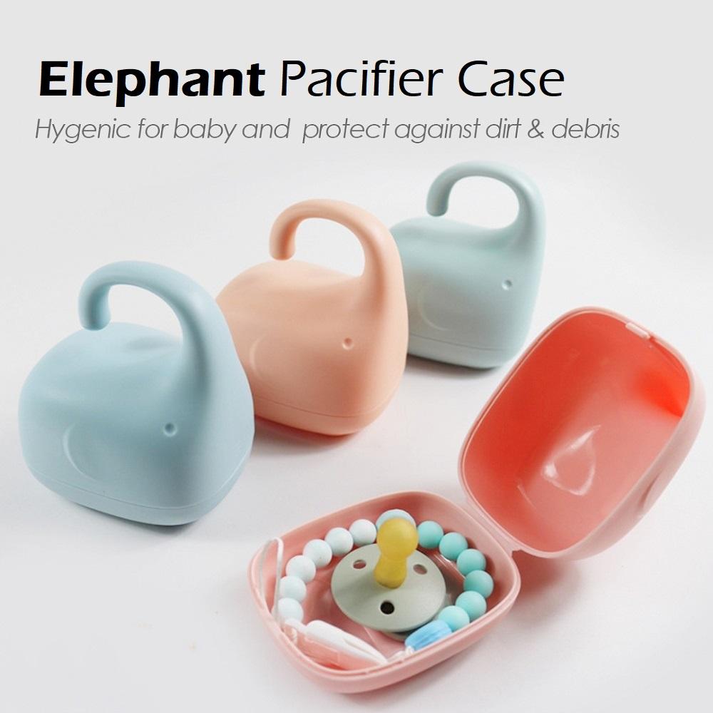 Elephant Pacifier Case