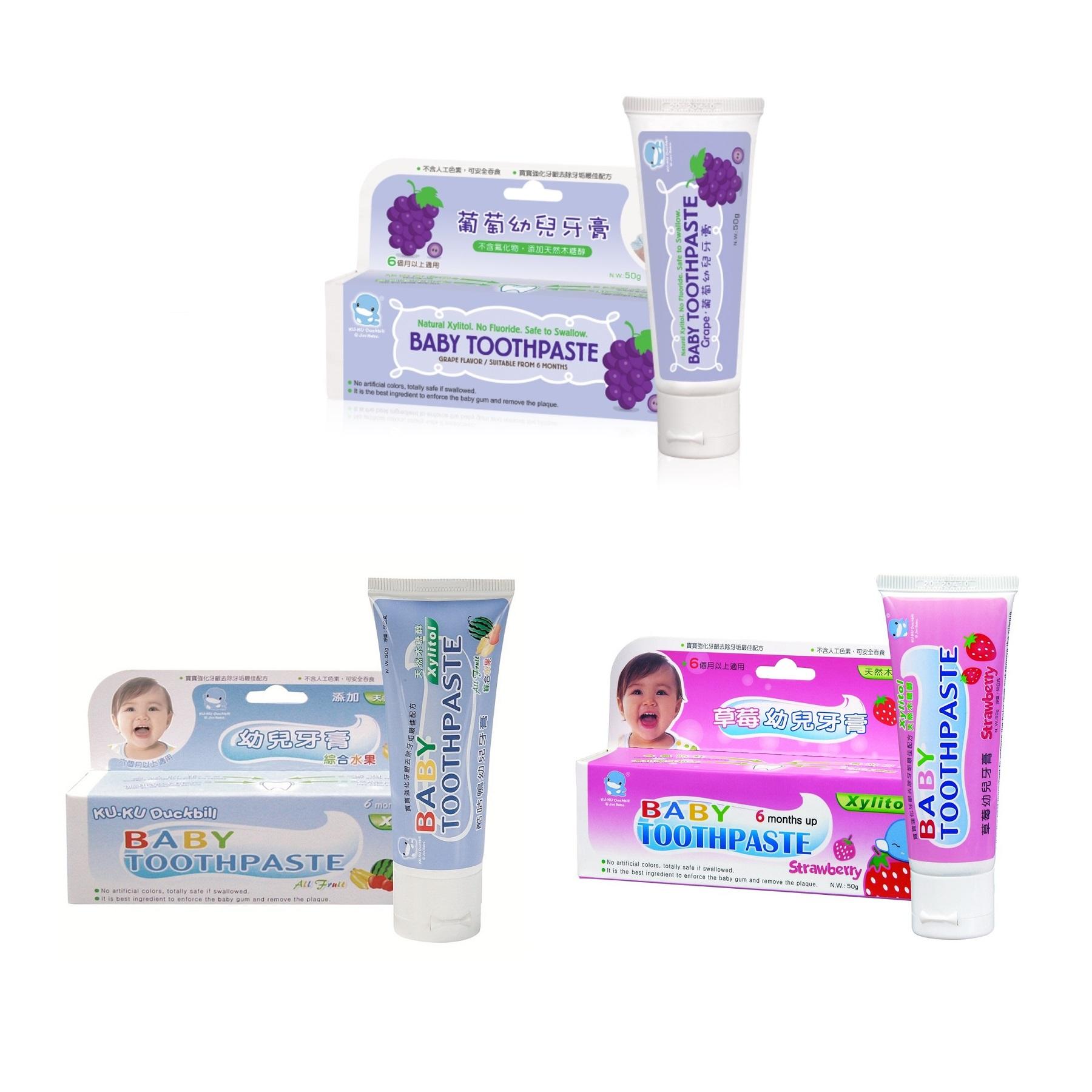 Kuku Duckbill Baby Toothpaste