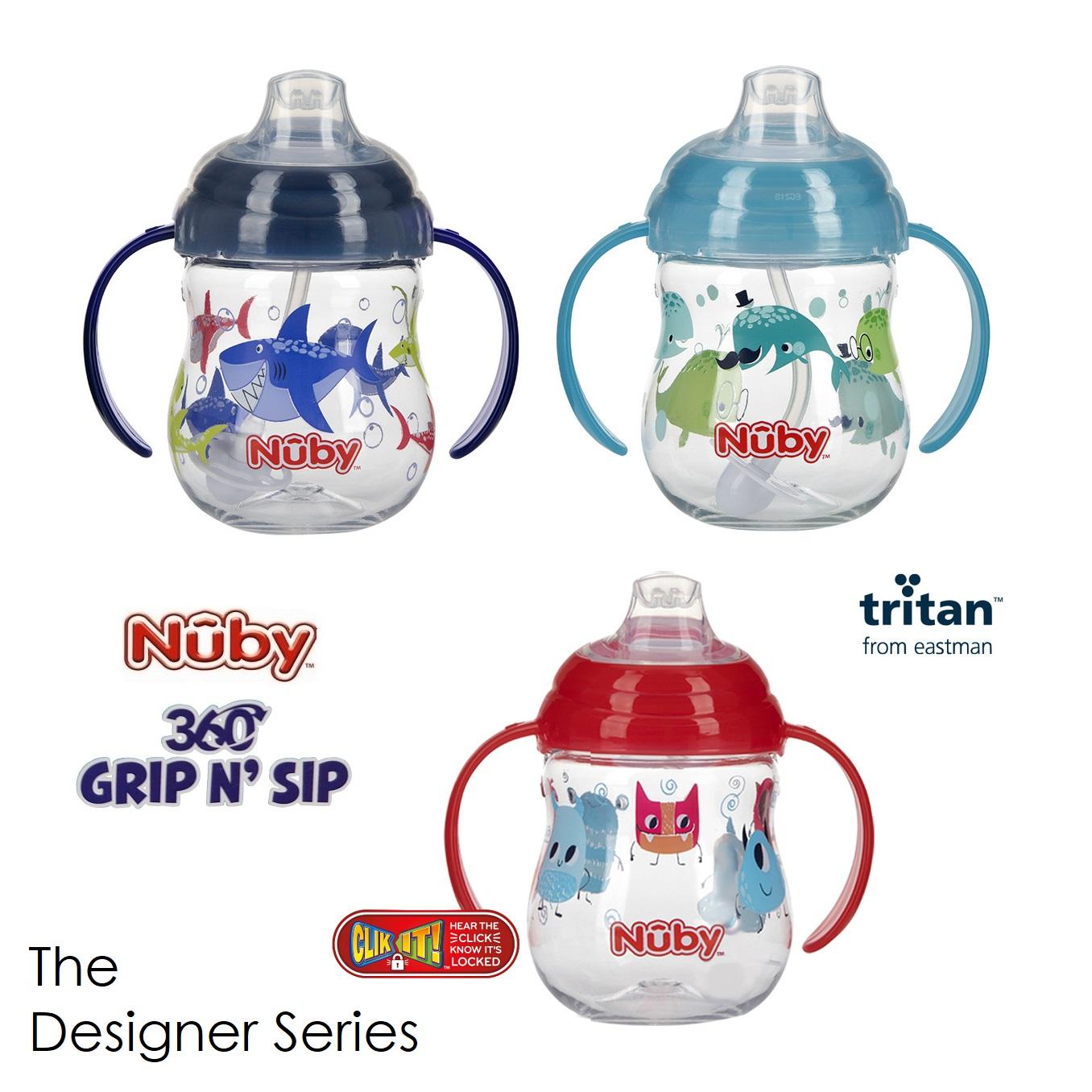 Nuby Grip N Sip The Designer Series (1)