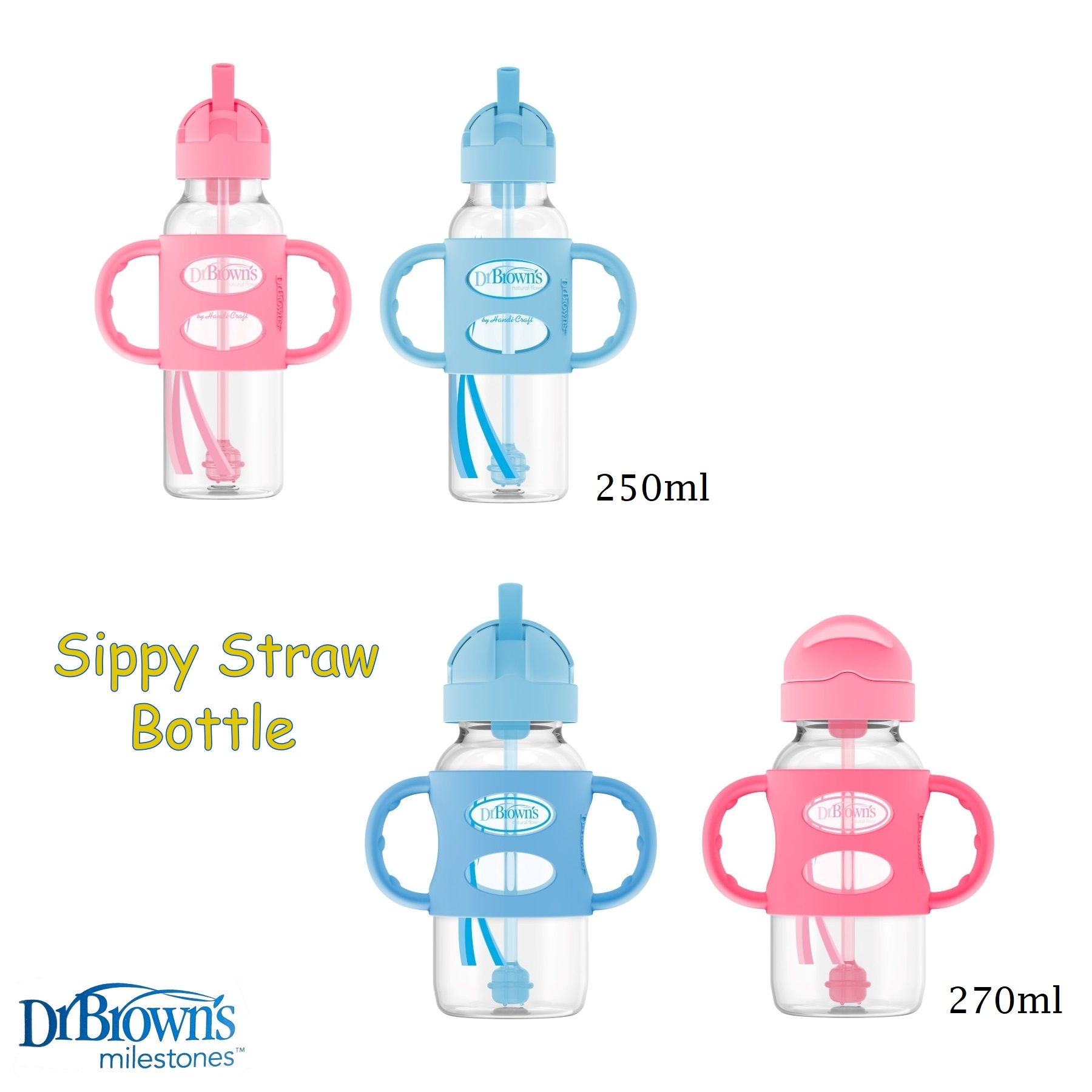 DrBrowns Sippy Straw Bottle (1)