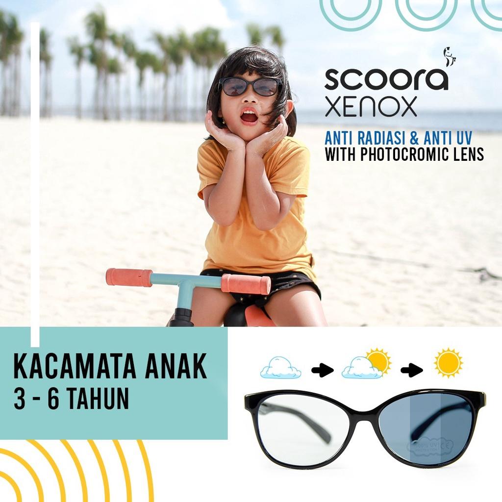 Scoora Xenox Kacamata Anti UV dan Blue Light