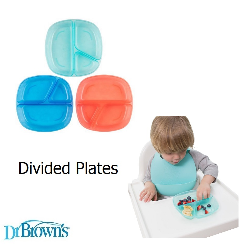 Dr Browns Divided Plates (1)