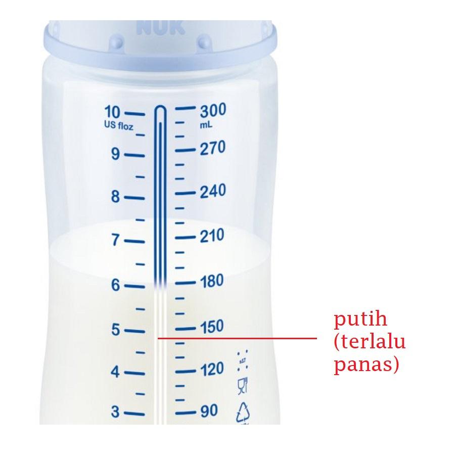 NUK Botol dengan Temperature Control (detail)