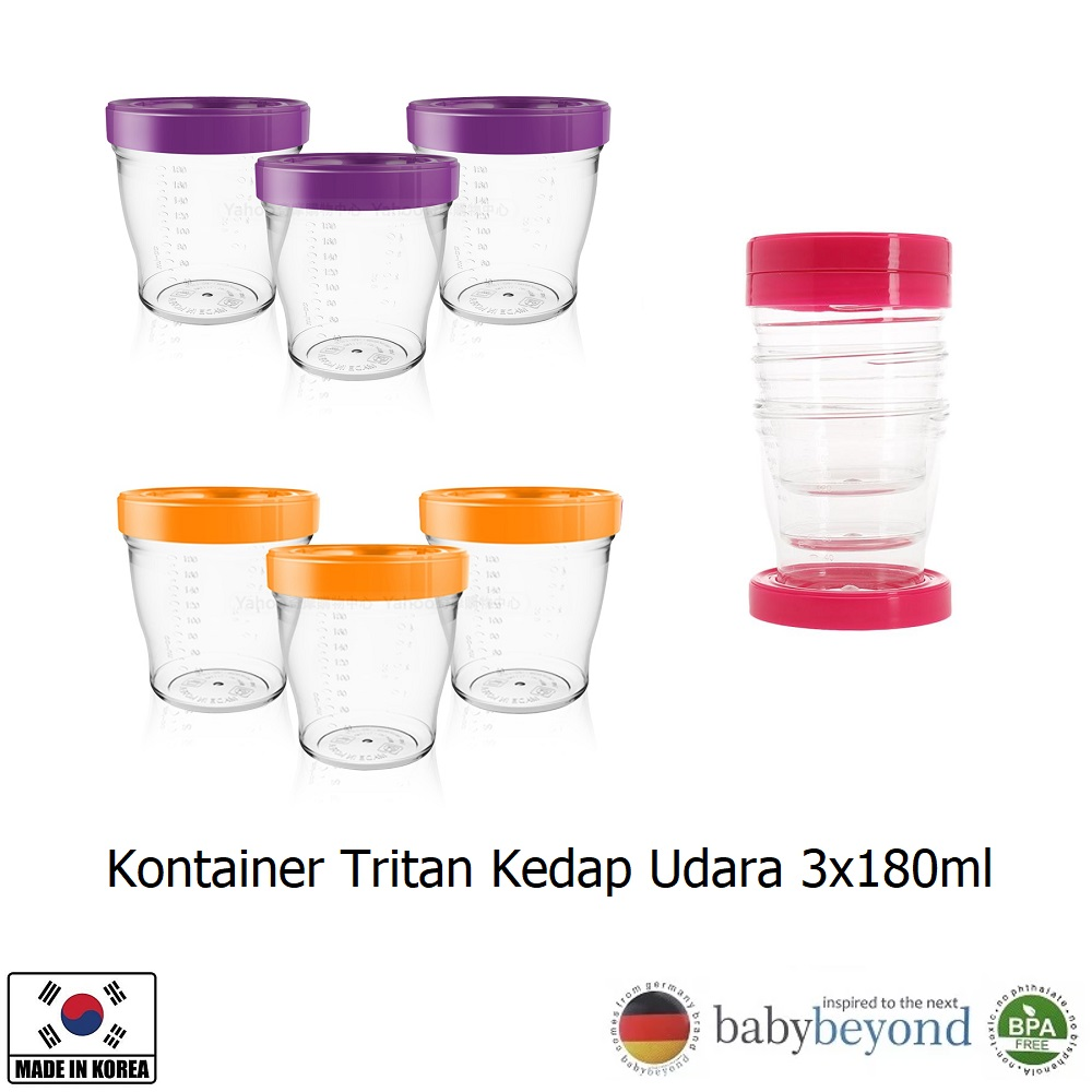 Baby Beyond Tritan Airtight Container Set (1)