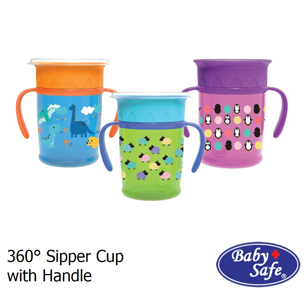 Baby Safe 360 Sipper Cup with Handle (1)
