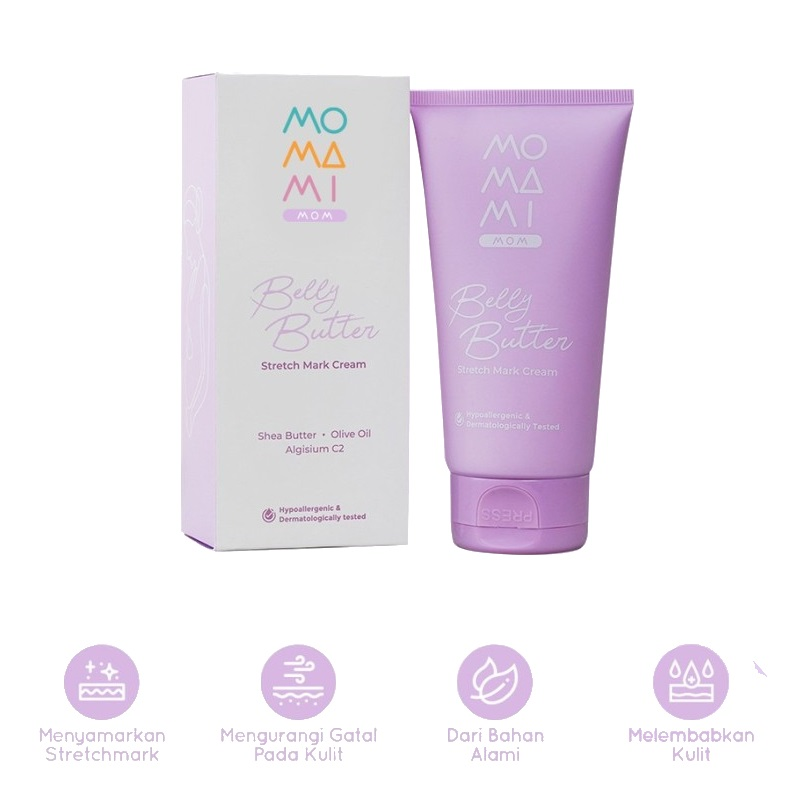 MoMaMi Mom Belly Butter Stretch Mark Cream (0)